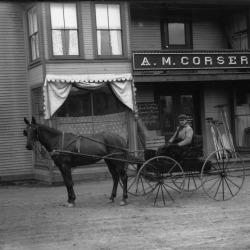 Horse and wagon 1900